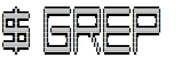 ascii art for Grep