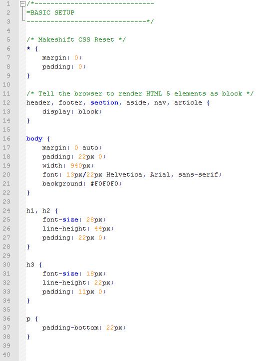 CSS Script 1